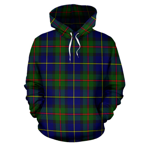 Image of Macleod Of Harris Modern Tartan Hoodie HJ4