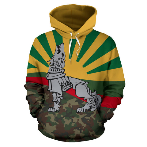 Lithuania Hoodie Iron Wolf A7
