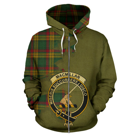 MacMillan Old Ancient  Royal All Over Hoodie (Zip)