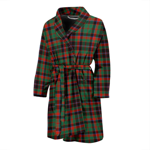 Cumming Hunting Ancient Tartan Men's Bath Robe