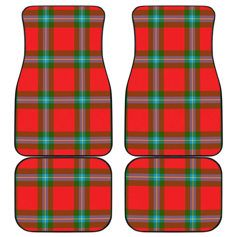 Image of Maclaine Of Loch Buie Tartan Car Floor Mat 4 Pieces K7