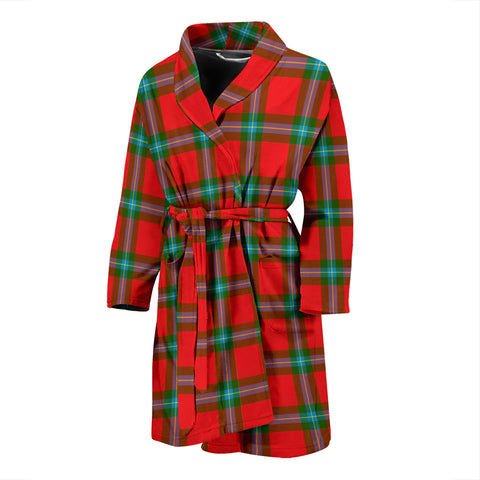 Image of MacLaine Of Loch Buie Tartan Men's Bath Robe