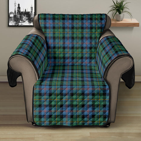 Image of Malcolm Ancient Tartan Recliner Sofa Protector | Tartan Home Set