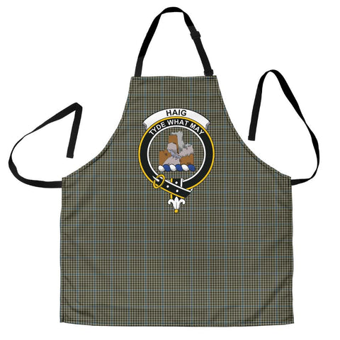 Image of Haig Check Tartan Clan Crest Apron