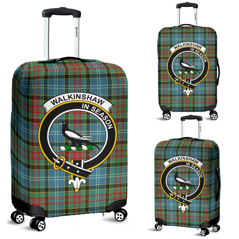 Image of Walkinshaw Tartan Clan Badge Luggage Cover Hj4 | Love The World