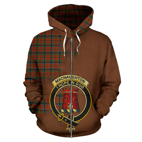 Image of MacNaughton Ancient  Royal All Over Hoodie (Zip)