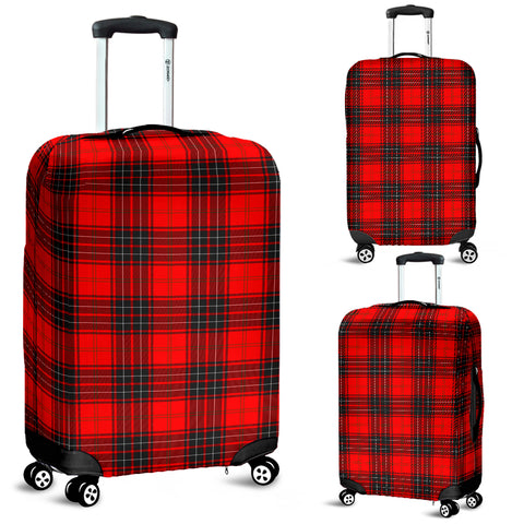 Image of Wemyss Modern Tartan Luggage Cover Hj4 | Love The World
