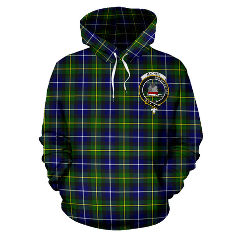 Macneil Of Barra Tartan Clan Badge Hoodie HJ4