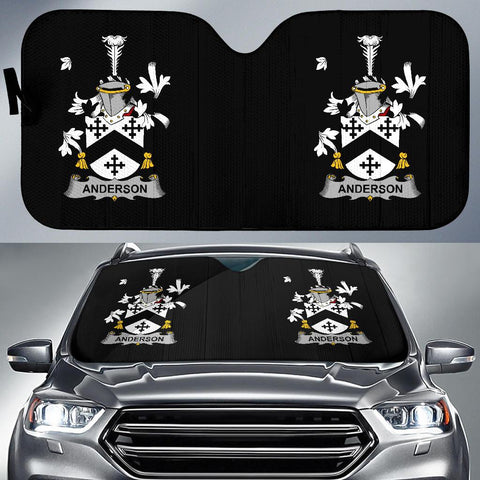 Anderson Ireland Auto Sun Shades - Irish Family Crest | Over 1400 Crests | 1sttheworld