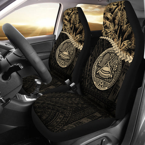 American Samoa Car Seat Covers Golden Coconut | Love The World