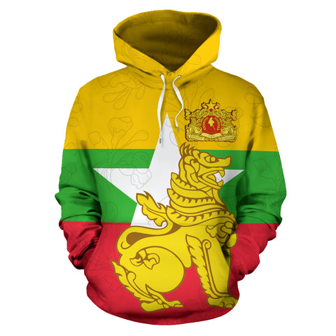 Image of Myanmar Hoodie Chinthe TH5