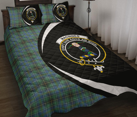 MacInnes Ancient Tartan Quilt Bed Set Circle
