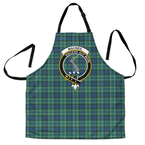 Image of MacNeill of Colonsay Ancient Tartan Clan Crest Apron