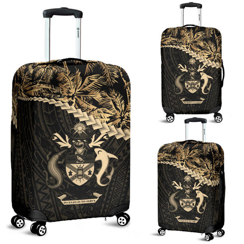 Solomon Islands Luggage Covers Golden Coconut A02