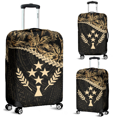 Kosrae Luggage Covers Golden Coconut A02