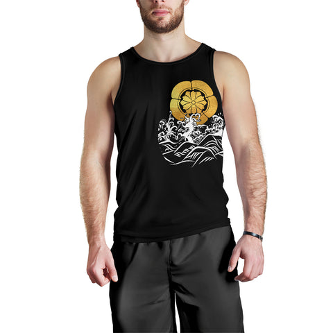 Image of The Golden Koi Fish Tank Top A7