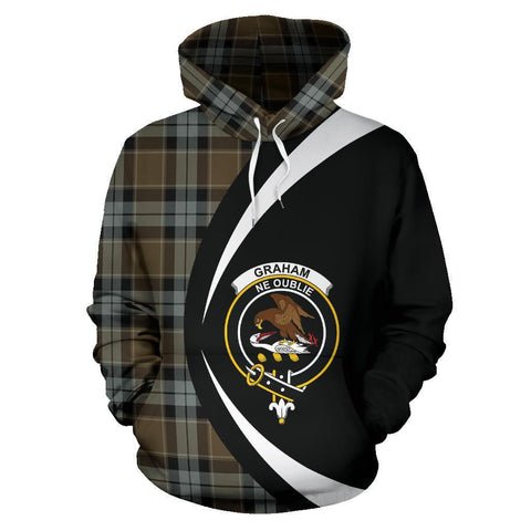 Graham of Menteith Weathered Tartan Circle Hoodie