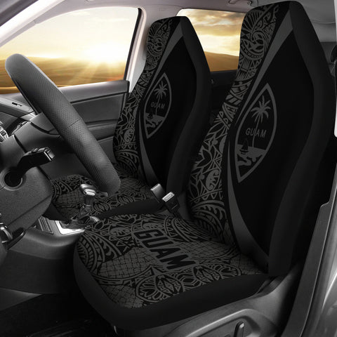 Guam Polynesian Car Seat Covers - Circle Style