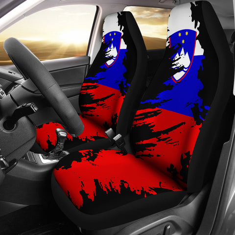 Slovenia Painting Car Seat Cover