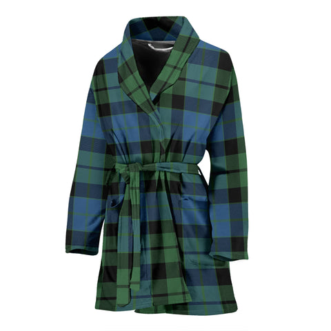 Mackay Ancient Tartan Women's Bath Robe
