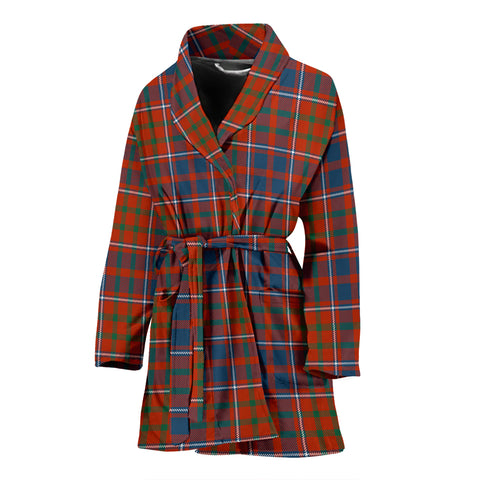 Cameron Of Lochiel Ancient Tartan Women's Bath Robe