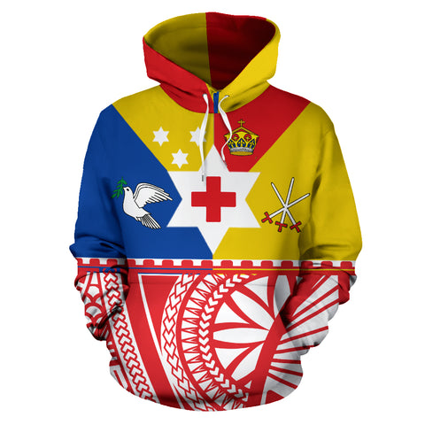 Tongan Sila Hoodie by 1sttheworld for Men and Women