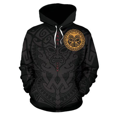 Polynesian Face™ All Over Hoodie | Women & Men | Pullover