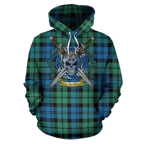 Campbell Ancient 01 Tartan Hoodie Celtic Scottish Warrior A79 | Over 500 Tartans | Clothing | Apaprel