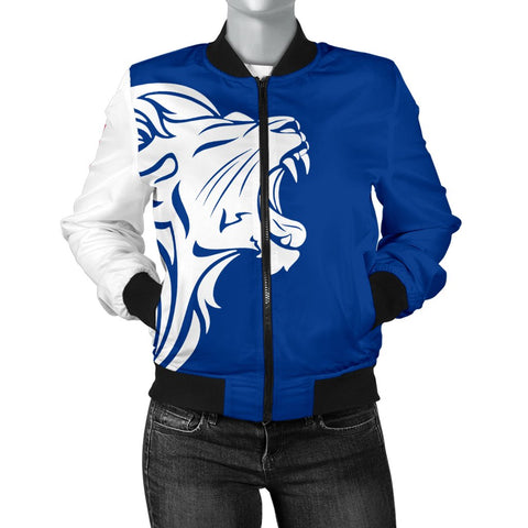 The Lion In Finland Women's Bomber Jacket