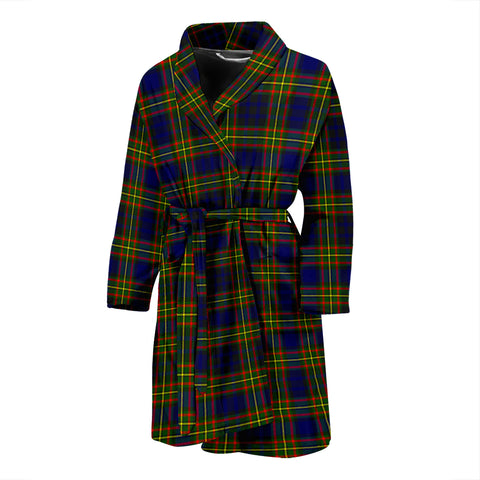 Clelland Modern Tartan Men's Bath Robe
