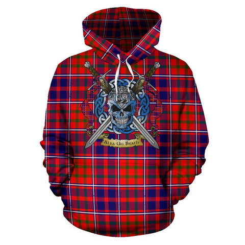 Cameron of Lochiel Modern Tartan Hoodie Celtic Scottish Warrior A79 | Over 500 Tartans | Clothing | Apaprel