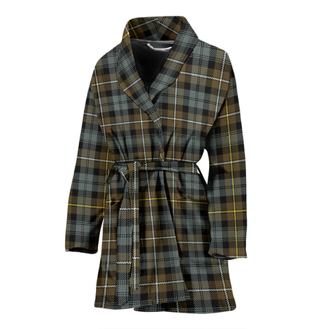 Campbell Argyll Weathered Tartan Women's Bath Robe