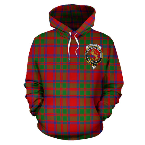 Mackintosh Tartan Clan Badge Hoodie HJ4