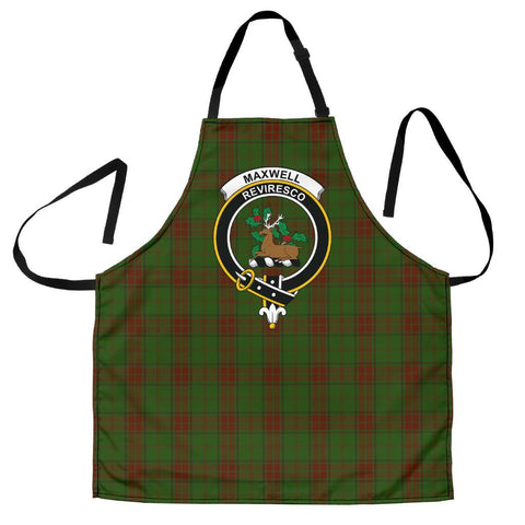 Image of Maxwell Hunting Tartan Clan Crest Apron