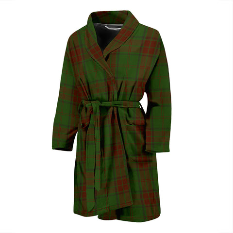Maxwell Hunting Tartan Men's Bath Robe