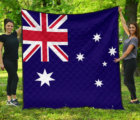 Australia Flag Premium Quilt | Blanket | Home Decor