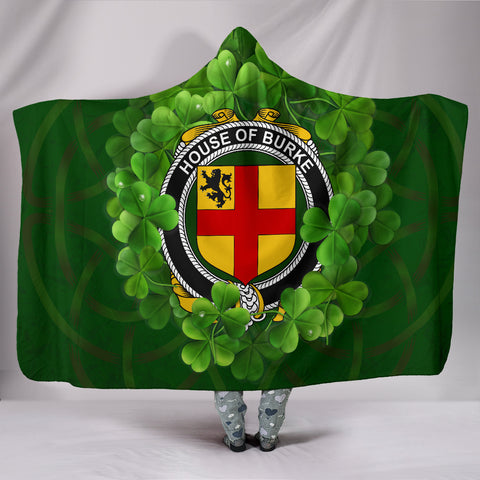 BURKE Ireland Hooded Blanket A9