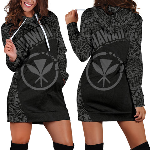 Hawaii Hoodie Dress Kanaka Maoli 12 TH90 |Women's Clothing| 1sttheworld