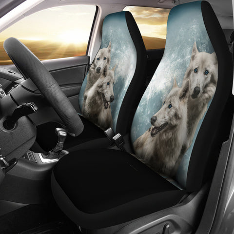 Wolves Car Seat Cover K5