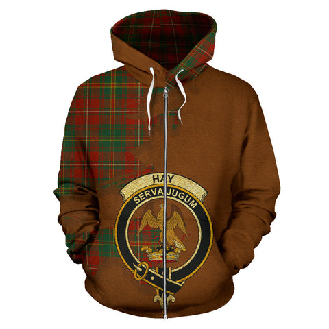 Hay Ancient  Royal All Over Hoodie (Zip)