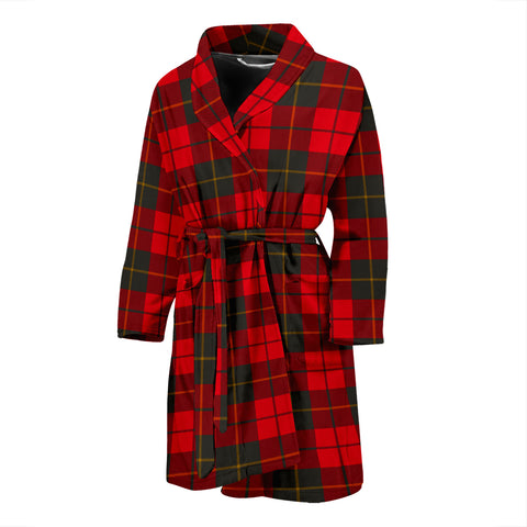 Wallace Weathered Tartan Men's Bath Robe - BN04