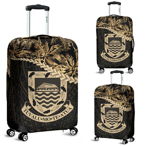 Tuvalu Luggage Covers Golden Coconut A02