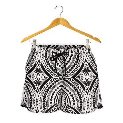 Polynesian All Over Print Women's Shorts 2