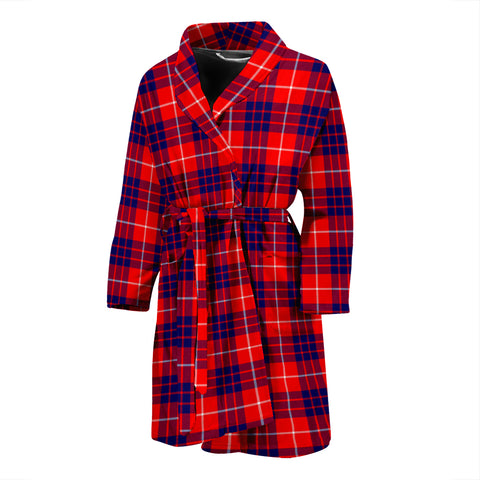 Hamilton Modern Tartan Men's Bath Robe