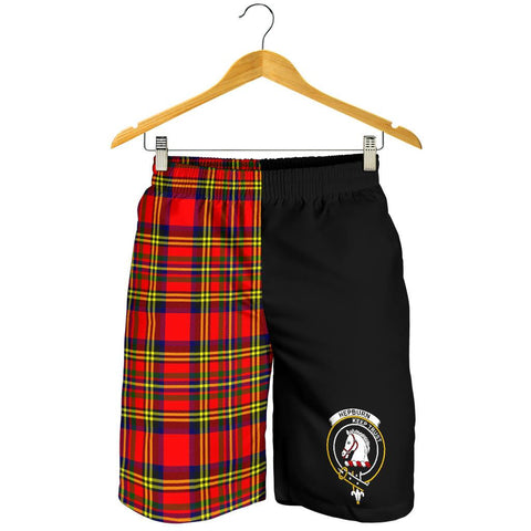 Hepburn Tartan Men's Shorts | 1sttheworld.com
