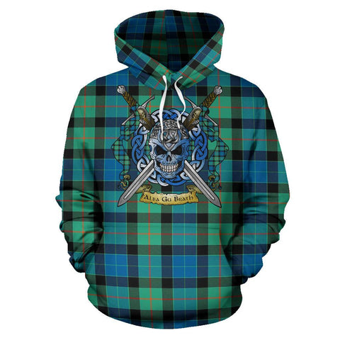 Gunn Ancient Tartan Hoodie Celtic Scottish Warrior A79 | Over 500 Tartans | Clothing | Apaprel