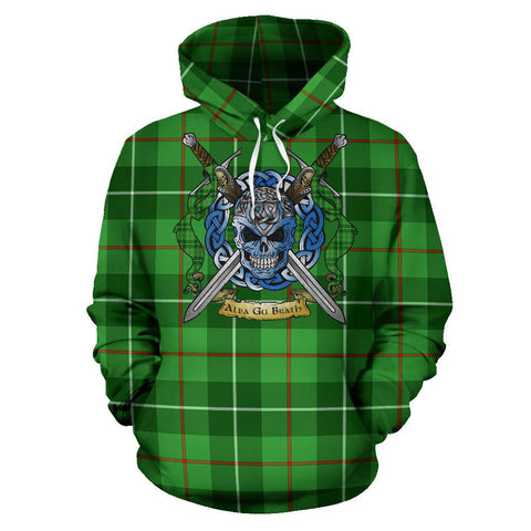 Galloway District Tartan Hoodie Celtic Scottish Warrior A79 | Over 500 Tartans | Clothing | Apaprel