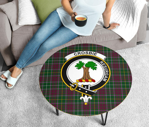 Image of Crosbie Clans Cofee Table BN