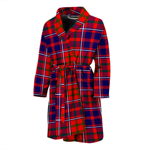 Cameron Of Lochiel Modern Tartan Men's Bath Robe