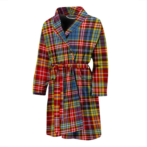 Image of Ogilvie Of Airlie Ancient Tartan Men's Bath Robe